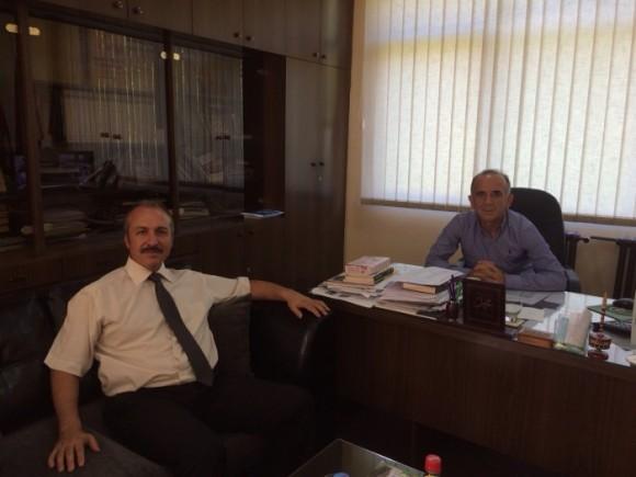 Rektori i Universitetit Ballkanik Ndërkombtar në Shkup vizitoi Medresenë Isa Beu