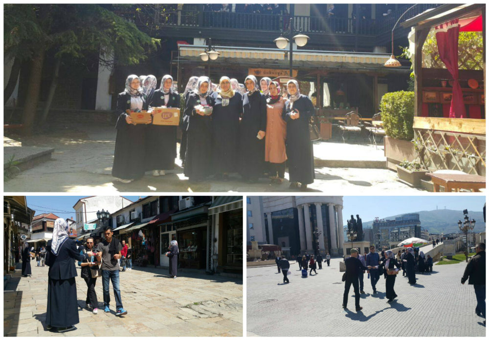 Nga Çarshia e Vjetër e Shkupit, filluan manifestimet me rastin e ditëlindjes së Muhamedit a.s.