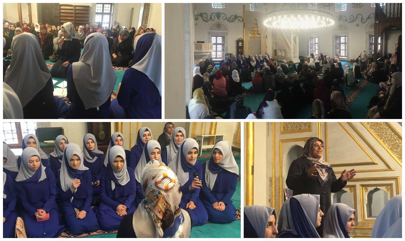 Medreseja Isa Beu shënon ditëlindjen  e Muhamedit a.s  para  besimtarëve te Manastirit