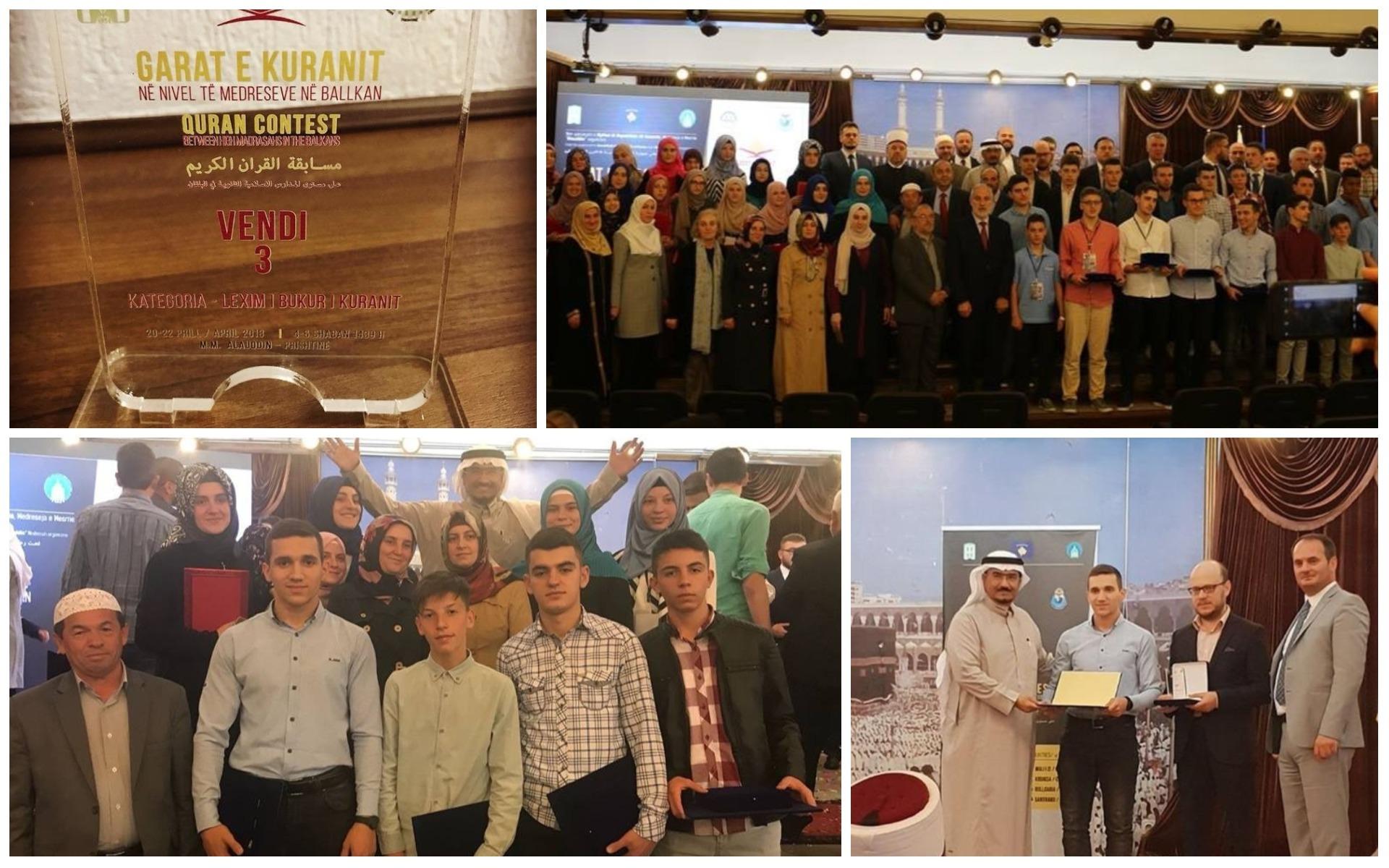 Medreseja Isa Beu në garat Kur'anore Ballkanike triumfon me 5 çmime të fituara si dhe me një çmim special